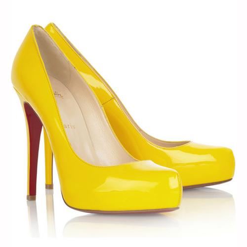 2b308c7f3fc0 Christian Louboutin Yellow Pump 2011